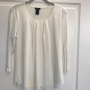 Beautiful Chiffon style Cream blouse